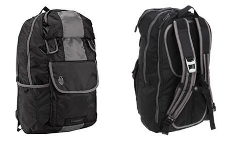 The front and back view of the backpack