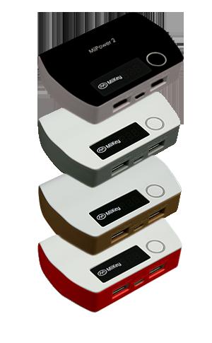 New Miikey Miipower 2 Powerbank Dual Charger