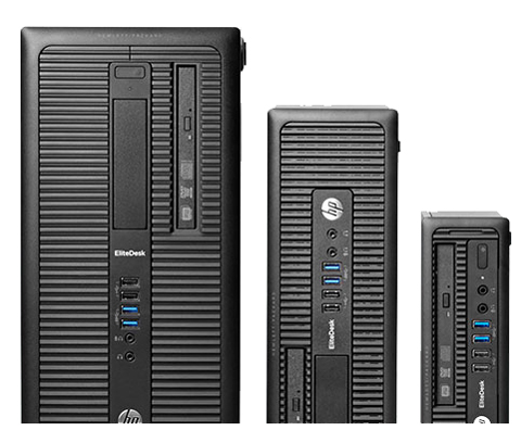 HP EliteDesk 800 G1 (K0S90UT#ABA) Desktop Computer Intel Core i7 4790 (3 60  GHz) 8 GB DDR3 500 GB HDD Intel HD Graphics 4600 Windows 7 Professional