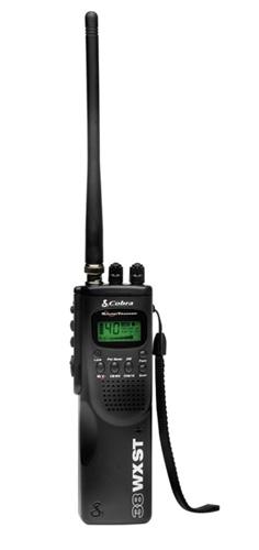 Cobra HH 38 WX ST Handheld CB Radio