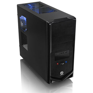 Thermaltake V4 Black Edition Mid Tower Steel Gaming Chassis (VM30001W2Z)