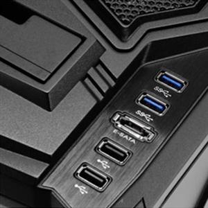 Easy access I/O ports
