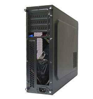 LOGISYS Computer Mini-ITX Tower Computer Case