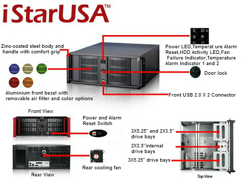iStarUSA D-400-6-RED