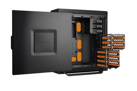 be quiet silent base 800 atx full tower pc case orange. Black Bedroom Furniture Sets. Home Design Ideas
