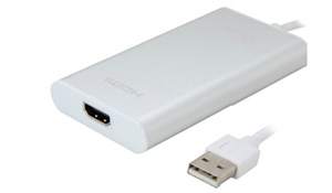 JUA250 USB 2.0 HDMI Display Adapter