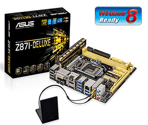 ASUS Z87I-DELUXE Motherboard
