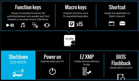 assign macros to function keys