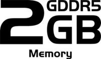 2GB GDDR5 Memory