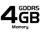 Gigantic 4GB DDR5 Memory