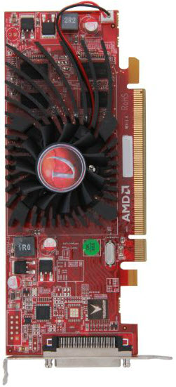 AMD Radeon HD 5450 Top View