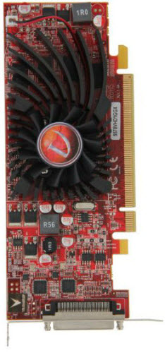 AMD Radeon HD 5570 Top View