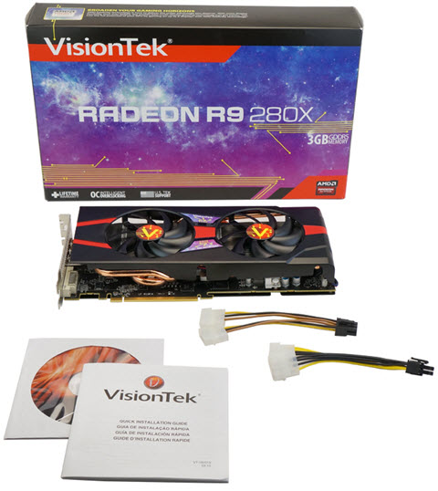 RADEON R9 280X - What's in the Box