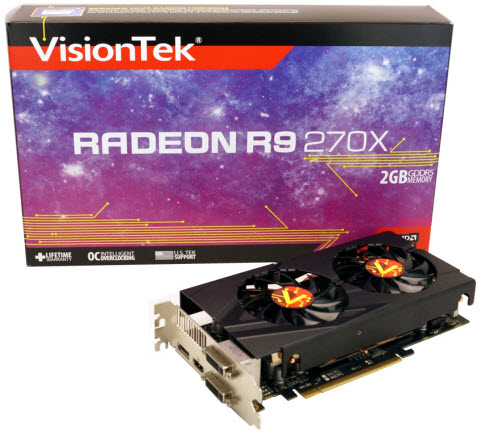 RADEON R9 270X - What's in the Box