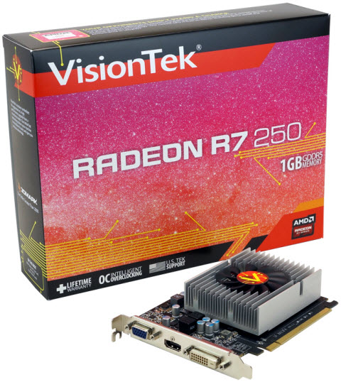 RADEON R7 250 - What's in the Box
