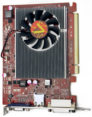 RADEON R7 240 Top View