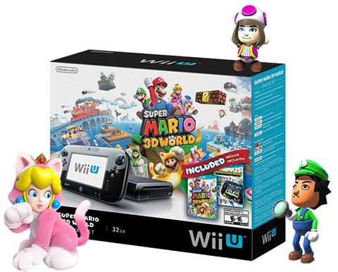 Nintendo Wii U Super Mario 3D World Deluxe Set