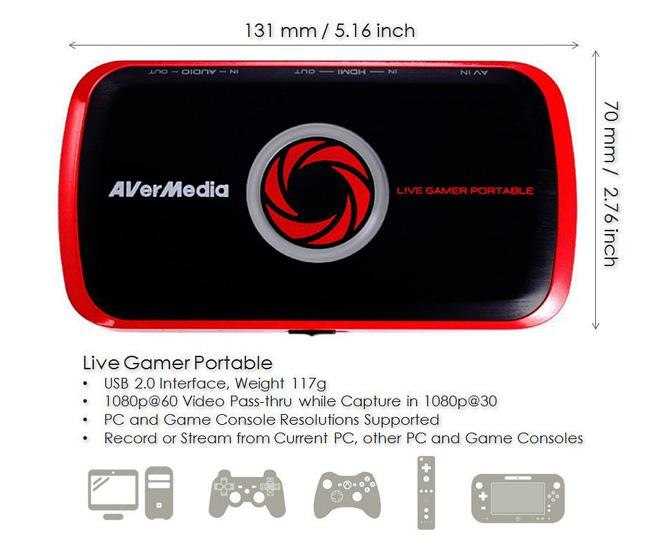 Live Gamer Portable - USB 2 0 (C875)
