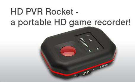 Hauppauge 1540 Hd Pvr Rocket Portable Game Recorder