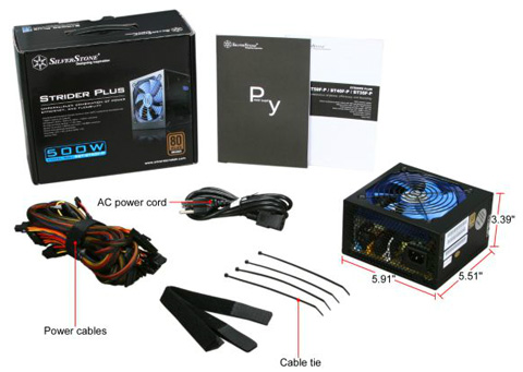 SILVERSTONE Power Supply