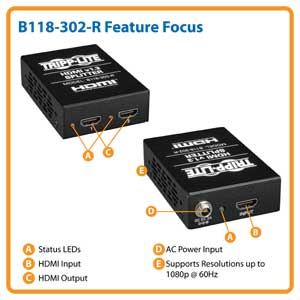 B118-302-R Feature Focus