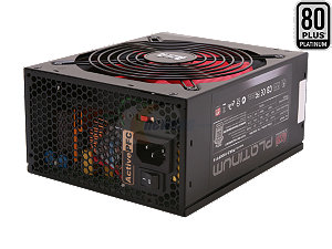 AZZA Platinum 750-Watt 80+ Platinum Power Supply (PSAZ-750PT14)