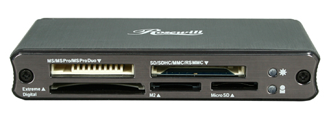 Rosewill RCR-IC001 - card reader - USB 2.0 Specs & Prices