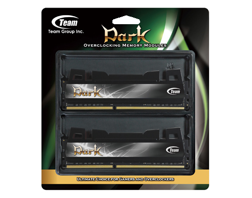 Team Xtreem Dark Series PC3 12800 DDR3 / DDR3L 1600 4GBx2 Desktop Memory TXD38192M1600HC9DC-D
