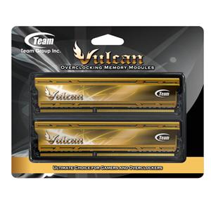 Team Vulcan PC3 12800 DDR3 / DDR3L 1600 4GBx2 Desktop Memory TLYD38G1600HC9DC01