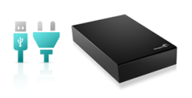Seagate® Expansion™ External hard drive