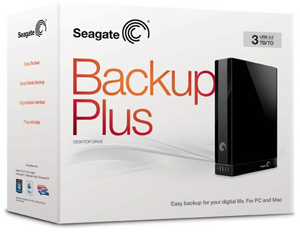 Backup Plus Desktop Drive for Mac