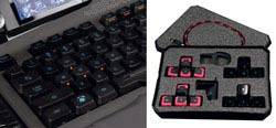 Mad Catz S.T.R.I.K.E. 7 Gaming Keyboard for PC - Optimized Main Keyboard