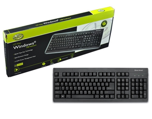 GEAR HEAD 107-Key USB Keyboard