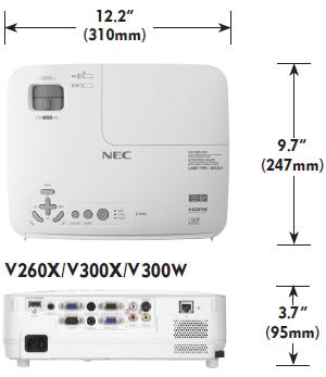 NP-V300W