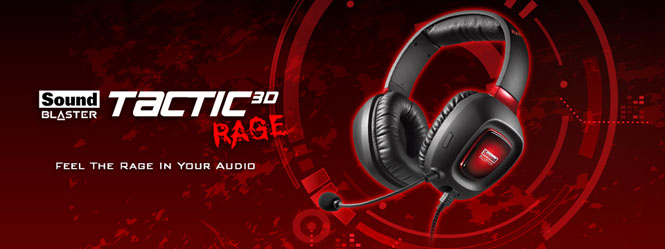 Sound Blaster Tactic3D Rage