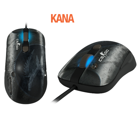 SteelSeries Kana CS: <i>Go</i> Mouse