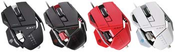 Mad Catz R.A.T. 5 Gaming Mouse - Available in Four Colors