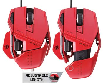 Mad Catz R.A.T. 5 Gaming Mouse - Precision Aim Mode