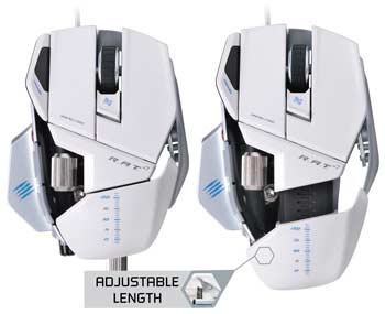 Mad Catz R.A.T. 7 Gaming Mouse - Precision Aim Mode