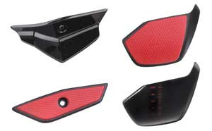 Mad Catz R.A.T. 7 Gaming Mouse - Interchangeable Pinkie Grips and Palm Rests