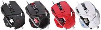 Mad Catz R.A.T. 7 Gaming Mouse - Available in Four Colors