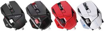 Mad Catz R.A.T. 9 Wireless Gaming Mouse - Available in Four Colors
