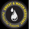 Sweat & Water Resistant