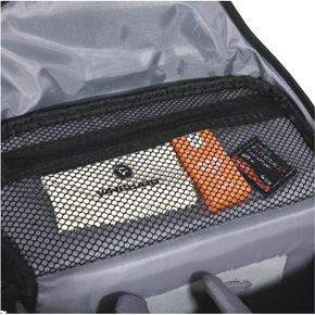 Inside mesh pocket for accessories