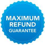 Maximum refund guarantee