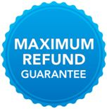 Maximum refund guarantee