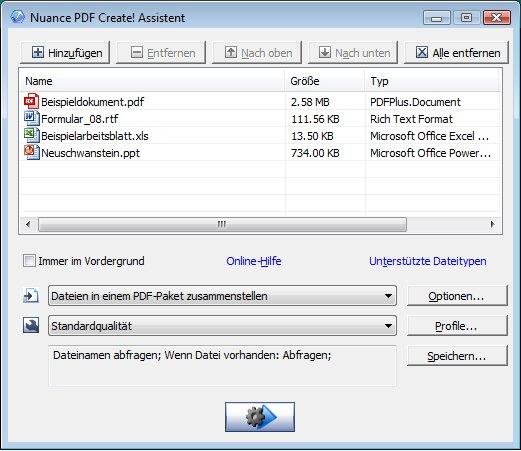 PDF Create Assistant