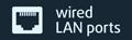 gigabit port icon
