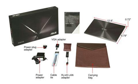 ASUS Zenbook 13.3 Ultrabook Silver