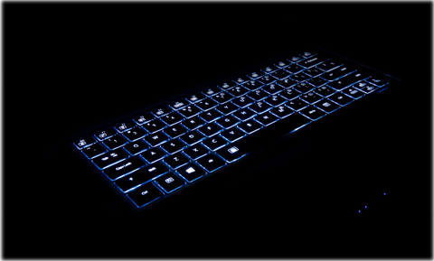 Backlit Keyboard: All-condition Gaming Activated